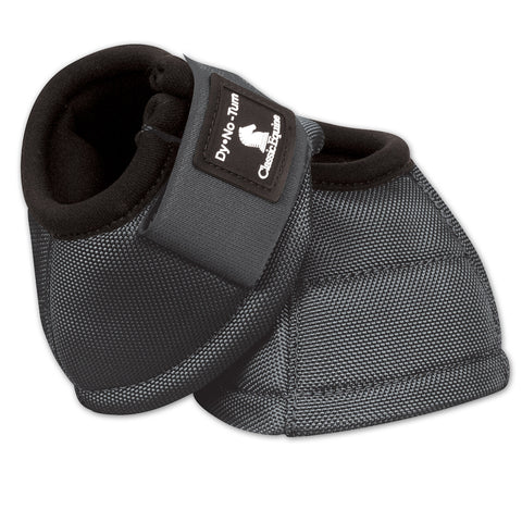 Classic Equine Steel Grey Dy-No-Turn Bell Boots
