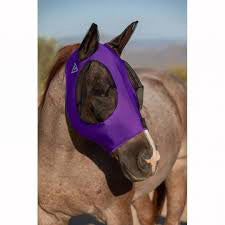 Professional's Choice Purple Comfort Fly Mask