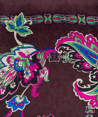 Wyoming Traders Charmeuse Silk Morocco Floral Wild Rag