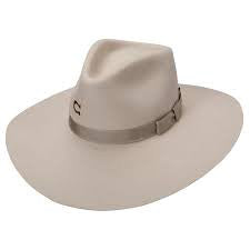 Charlie 1 Horse Sliver Belly Highway Fedora Felt Hat
