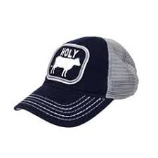 J. America Navy Holy Cow Cap