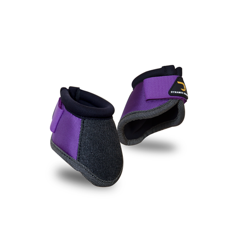 Dynamic Edge Purple Bell Boots