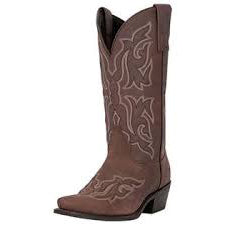 Women's Distressed Brown Snip Toe Boot