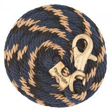 Weaver Leather Navy, Black and Tan Lead Rope