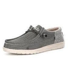Men's Grey Wally Funk Hey Dude Shoe