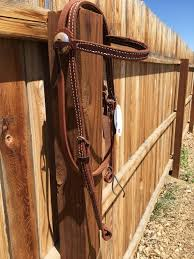 HR Wholesales Oiled Brow band Headstall