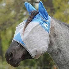 Cashel Company Blue Yearling Fly Mask with Ears