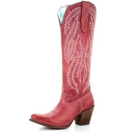 Corral Tall Red Western Boots