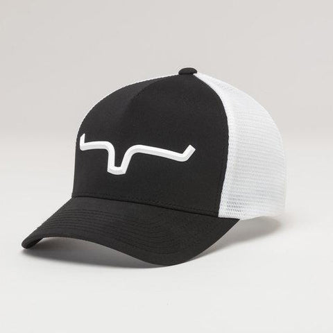 Kimes Ranch Black Endurance Flex Fit Cap