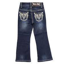 Girl's Aztec Stitching Jean
