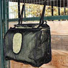 Cashel's Large Black Mesh Hay Bag