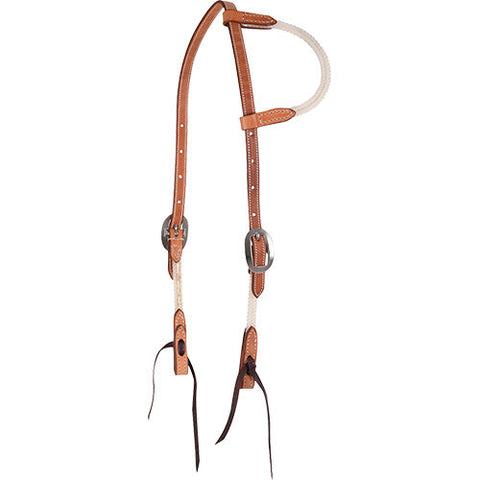 Martin Saddlery Rope and Leather One Ear Headstall
