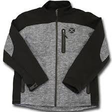 Hooey Grey and Black Softshell Jacket