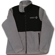 Hooey Black and Grey Fleece Jacket