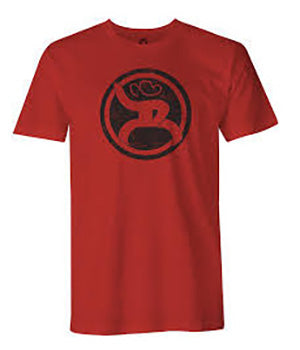 Hooey Red Roughy 2.0 Logo T Shirt
