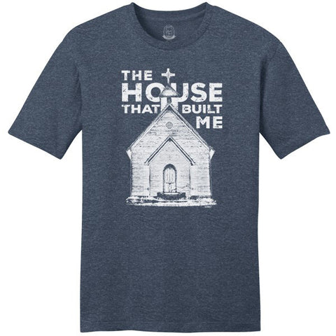 Mason Jar The House That Built Me T-Shirt
