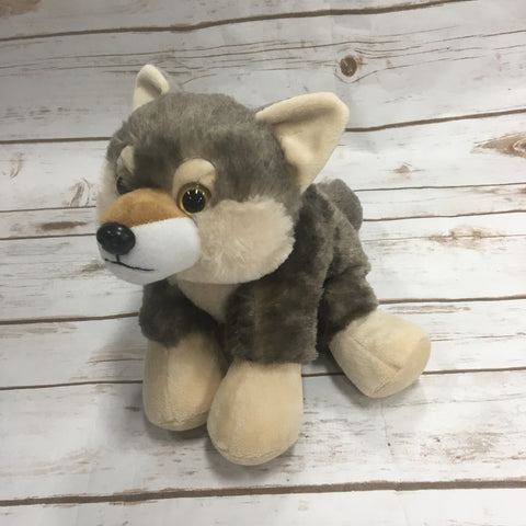 Stuffed Wolf Animal