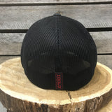 Cactus Ropes Black and Red Flexfit Cap