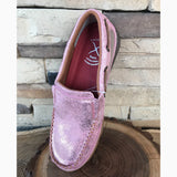 ~PRE SALE~ WE Exclusive Twisted X Women's Pink Glitter Slip On Moc