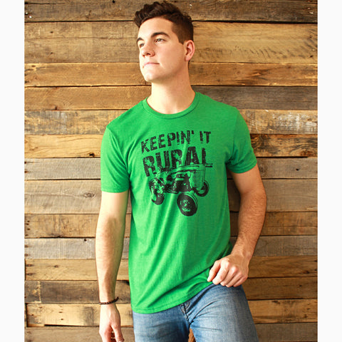 Mason Jar Keepin It Rural T-Shirt