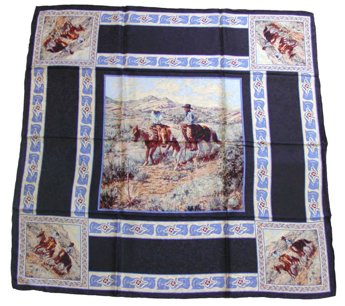 Wyoming Traders Limited Edition Joelle Smith Compadres Black Wild Rag