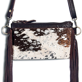 American Darling Blank and White Acid Cross Body Bag