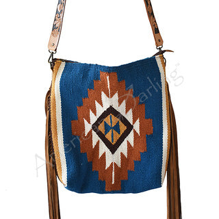American Darling Aztec Blanket Fringe Purse