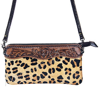 American Darling Cheetah Cross Body Purse