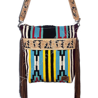 American Darling Aztec Blanket Cross Body Purse