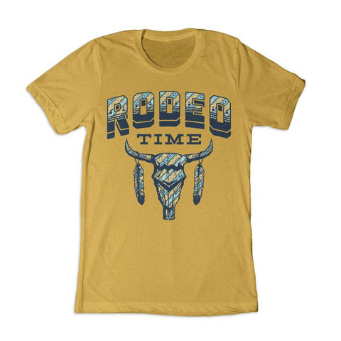 Dale Brisby Mustard Tribal Tee