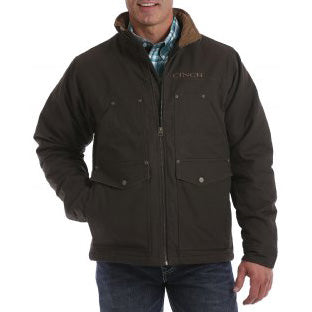 Cinch Brown Canvas Contender Jacket