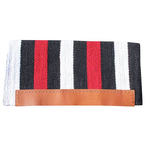 Professional's Choice Casa Zia Navajo Saddle Blanket Black & Crimson