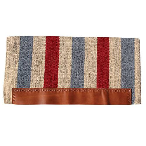 Professional's Choice Casa Zia Navajo Saddle Blanket Gray & Crimson