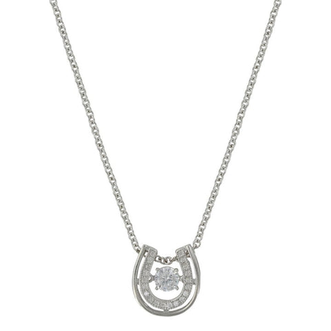 Montana Silver Women's Dancing with Luck Horse Shoe Necklace