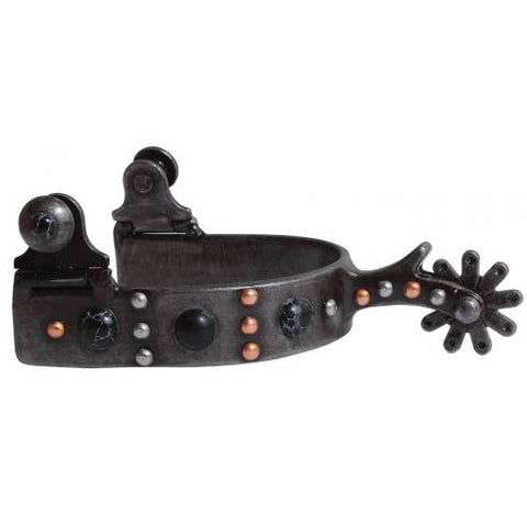 Professional's Choice Ladies Black Dot Spur