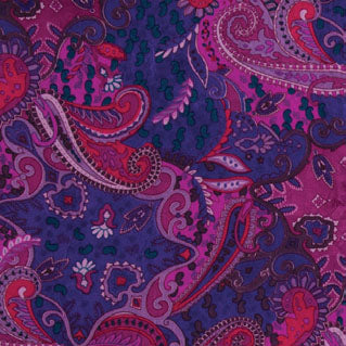 Wyoming Traders Paisley Pomegranate Wild Rag