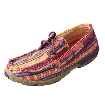 Twisted X Women's Purple Canvas Shoe