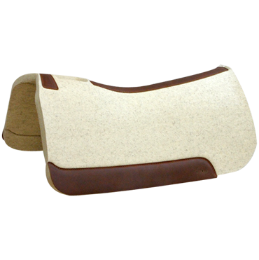 "5 Star Natural 1"" Saddle Pad - 32 x 30"