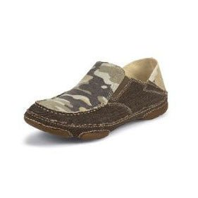 Tony Lama Men's  Desert Camo Canvas