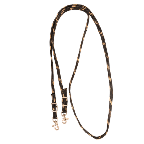 Classic Equine Braided Waxed Roping Rein