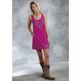 Roper Women's Pink Aztec Dress