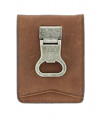 Nocona Men's Double Bi-fold Money Clip