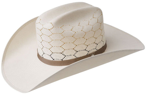Bailey Hat Company Enzo Hexagon Vents Straw Hat