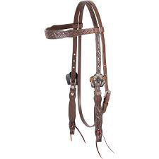 Cashel's Guns and Roses Browband Headstall