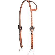 Cashel's Guns and Roses Slip Ear Headstall