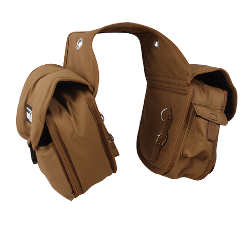 Cashel Brown Deluxe Saddle Bag