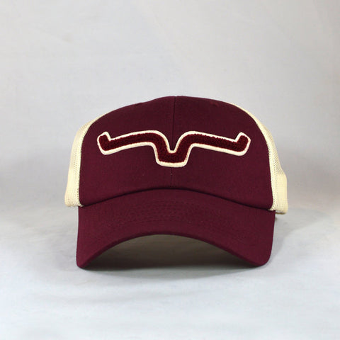 Kimes Ranch Athletic Burgundy Cap