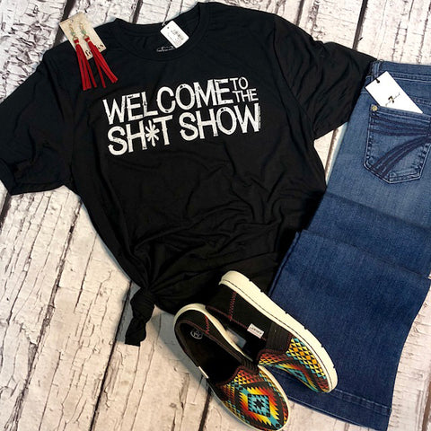 """Welcome to the Sh*t Show"" Tee"