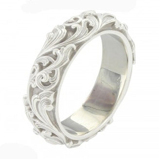 Montana Silver Women's Scroll Ring Band