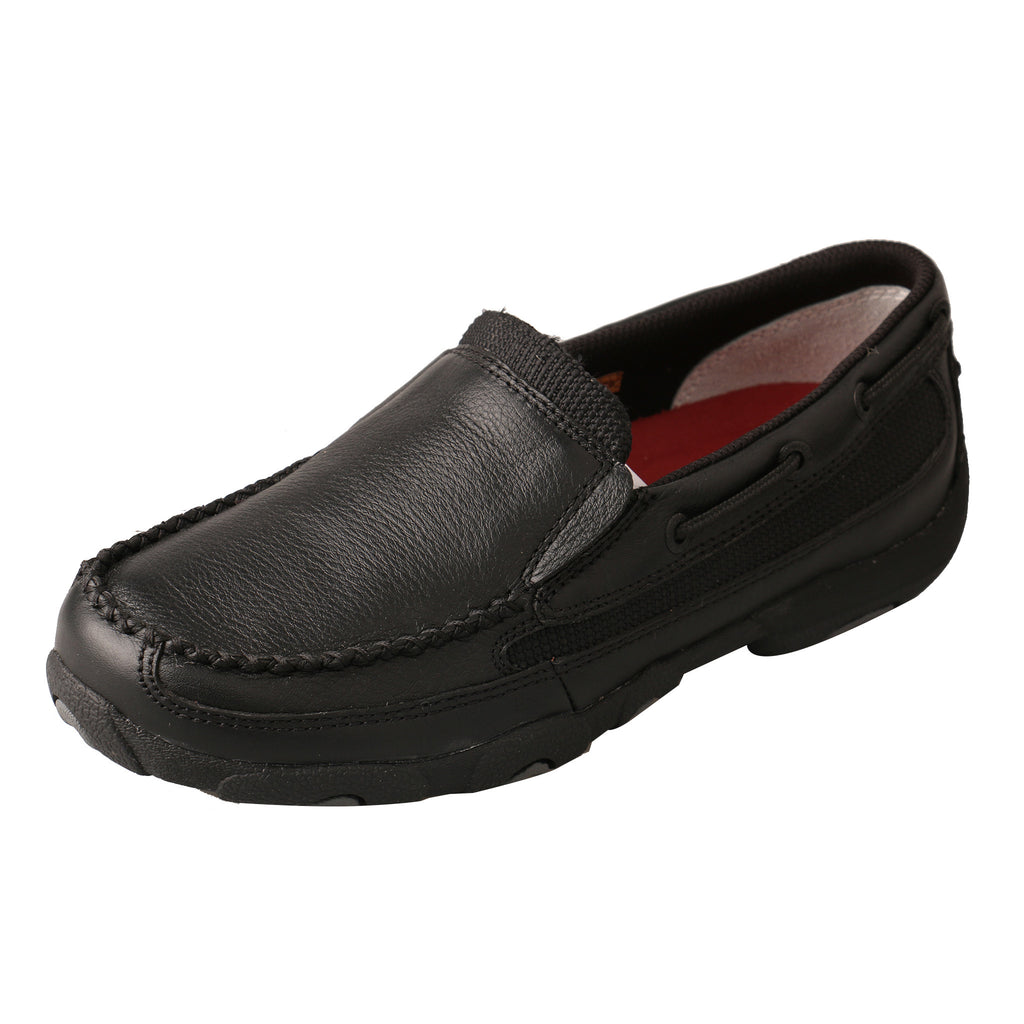 Twisted X Black Slip On
